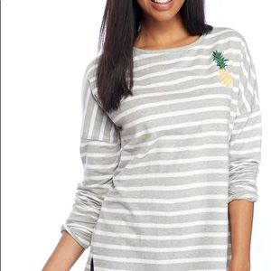 Crown And Ivy sparkle pineapple tunic
